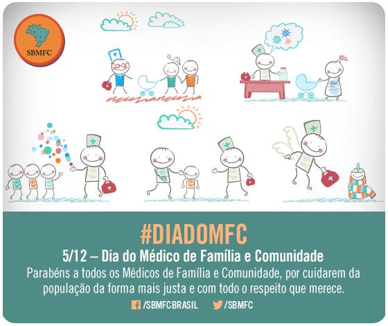 #diadomfc 05/12 - Dia do Médico de Família e Comunidade Parabéns a todos os Médicos de Família e Comunidade, por cuidarem da população da forma mais justa e com todo o respeito que merece.