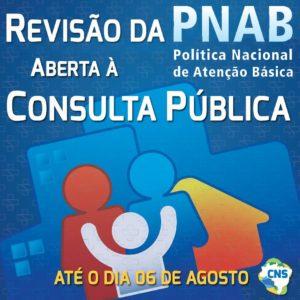 Revisão da PNAB aberta à Consulta Pública até o dia 6 de agosto